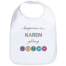 Karen BINGO Bib