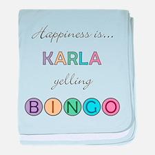 Karla BINGO baby blanket