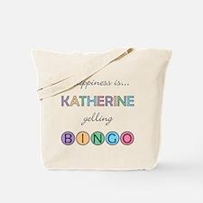 Katherine BINGO Tote Bag