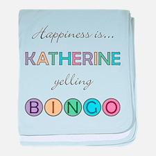 Katherine BINGO baby blanket