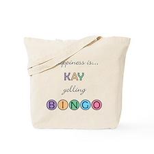 Kay BINGO Tote Bag