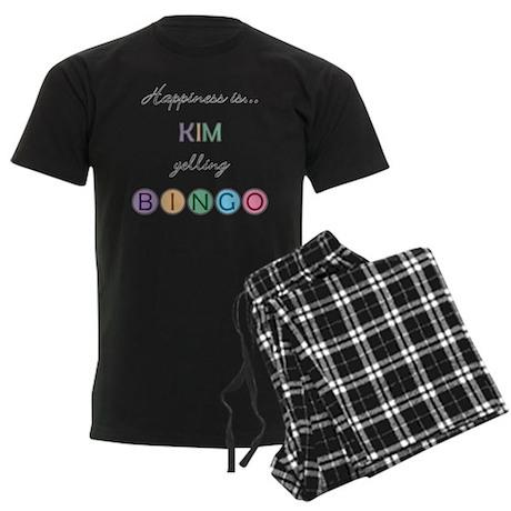 Kim BINGO Men's Dark Pajamas