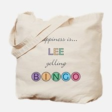 Lee BINGO Tote Bag