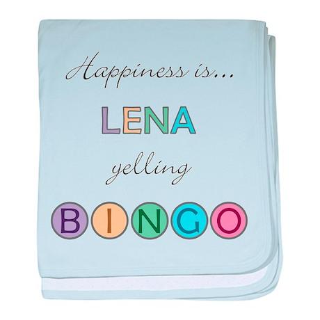 Lena BINGO baby blanket