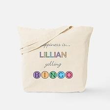 Lillian BINGO Tote Bag