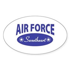 AF Sweetheart Oval Decal