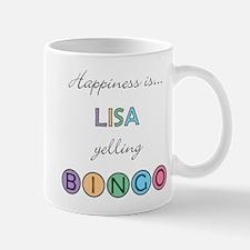 Lisa BINGO Mug