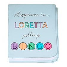 Loretta BINGO baby blanket