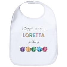 Loretta BINGO Bib