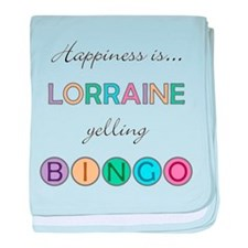 Lorraine BINGO baby blanket