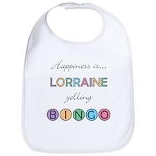 Lorraine BINGO Bib