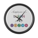 Luann BINGO Large Wall Clock