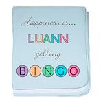 Luann BINGO baby blanket
