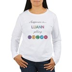 Luann BINGO Women's Long Sleeve T-Shirt