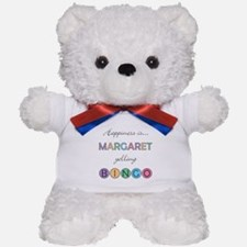 Margaret BINGO Teddy Bear