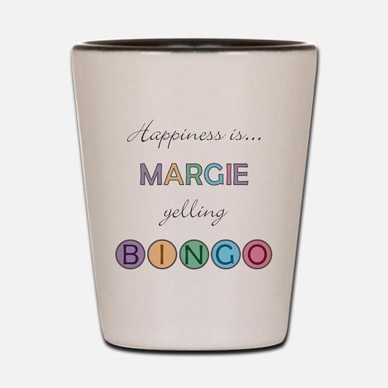 Margie BINGO Shot Glass