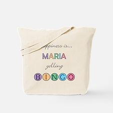 Maria BINGO Tote Bag