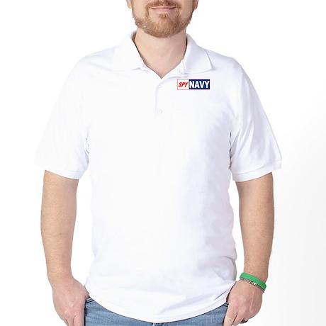 Spy Navy Golf Shirt