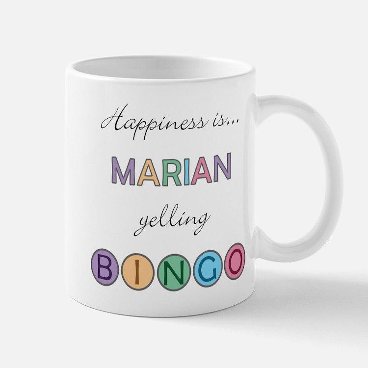 Marian BINGO Mug