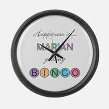 Marian BINGO Large Wall Clock