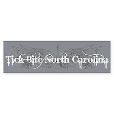 Tick Bite North Carolina Bumper Bumper Sticker
