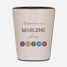 Marlene BINGO Shot Glass