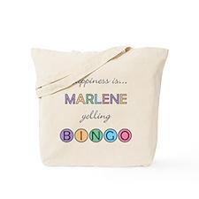 Marlene BINGO Tote Bag