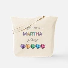 Martha BINGO Tote Bag