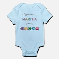 Martha BINGO Infant Bodysuit