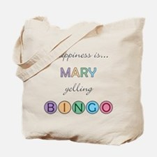 Mary BINGO Tote Bag