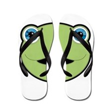 Cute Cool turtle Flip Flops