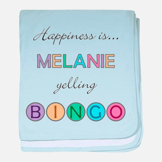 Melanie BINGO baby blanket