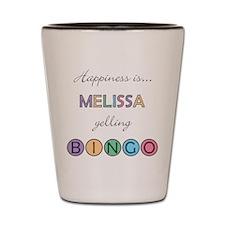 Melissa BINGO Shot Glass