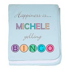 Michele BINGO baby blanket