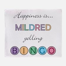 Mildred BINGO Throw Blanket