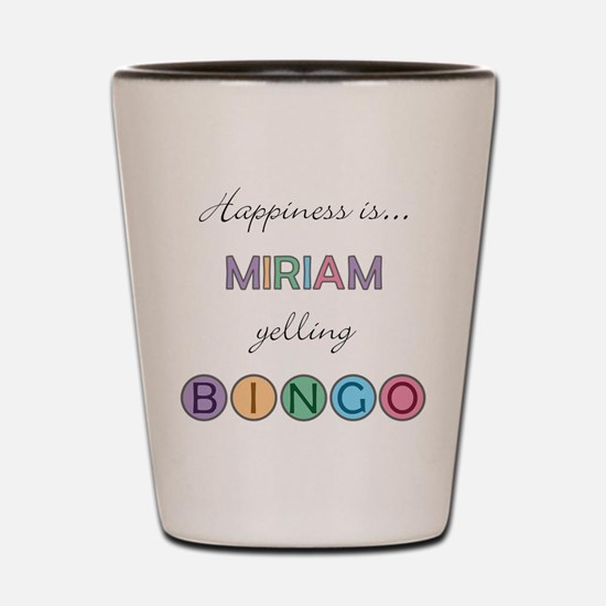 Miriam BINGO Shot Glass
