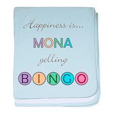 Mona BINGO baby blanket