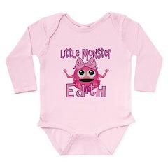 Little Monster Edith Long Sleeve Infant Bodysuit