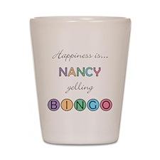 Nancy BINGO Shot Glass