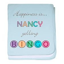 Nancy BINGO baby blanket
