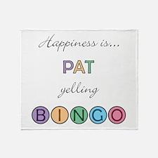 Pat BINGO Throw Blanket