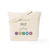 Pat bingo Canvas Bags