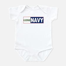 Gator Navy Infant Creeper