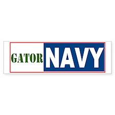 Gator Navy Bumper Bumper Sticker