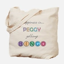 Peggy BINGO Tote Bag