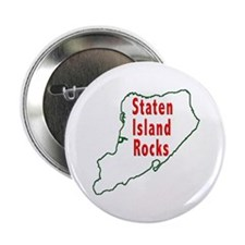 "Staten Island Rocks 2.25"" Button"