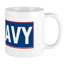Brown Water Navy Mug
