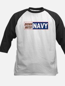 Brown Water Navy Tee