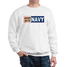 Brown Water Navy Sweatshirt