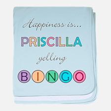 Priscilla BINGO baby blanket